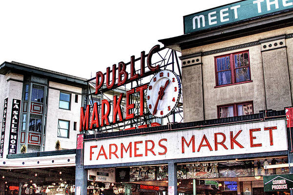 Photograph - Public Market by David Patterson
