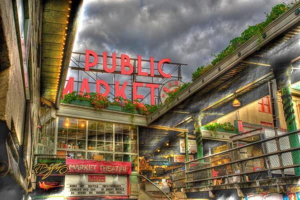 Photograph - Public Market by Dillon Kalkhurst