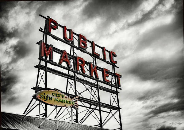 Wall Art - Photograph - Public Market  by Susan Stone