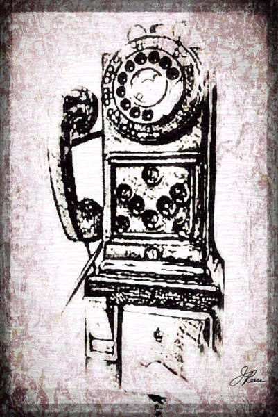 Photograph - Public Pay Telephone by Joan Reese