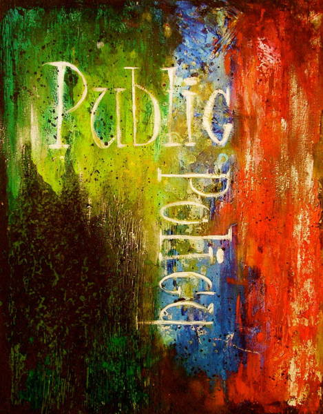 Wall Art - Painting - Public Policy by Laura Pierre-Louis
