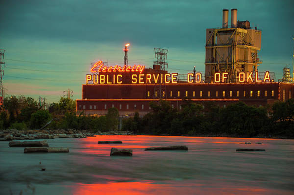 Photograph - Public Service Co. Of Oklahoma - Tulsa by Gregory Ballos