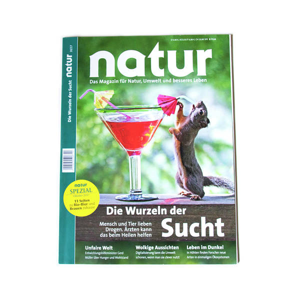 Photograph - Published On Natur German Language Magazine Cover by Peggy Collins