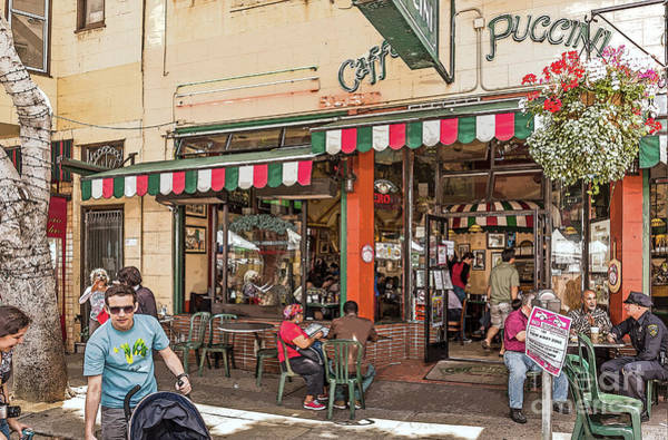 Photograph - Caffe Puccini by Kate Brown