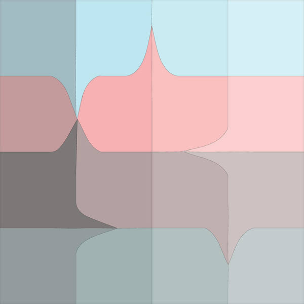 Digital Art - Pucker Grid by Kevin McLaughlin