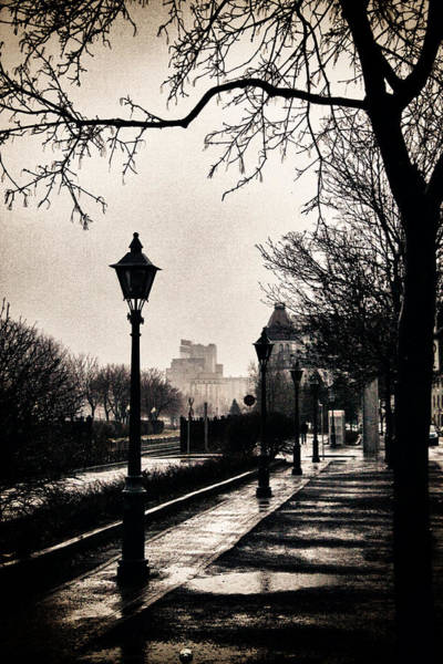 Old Montreal Photograph - Puddles Of Light.. by Russell Styles