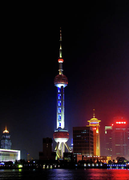 Photograph - Pudong New District Shanghai - Bigger Higher Faster by Christine Till