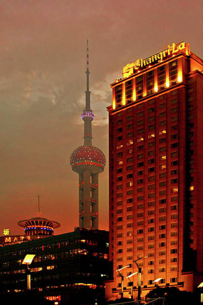 Photograph - Pudong Shanghai - First City Of The 21st Century by Christine Till