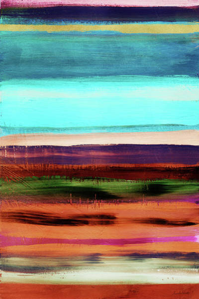Landscapes Mixed Media - Pueblo 2- Art By Linda Woods by Linda Woods