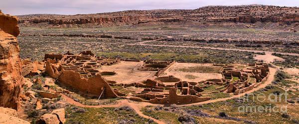 Photograph - Pueblo Bonito Canyon by Adam Jewell
