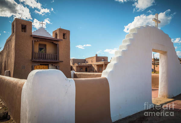Wall Art - Photograph - Pueblo De Taos Church by Inge Johnsson