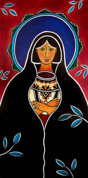 Painting - Pueblo Madonna by Jan Oliver-Schultz