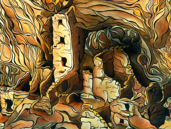 Painting - Pueblo Ruins by Amy Ferrari