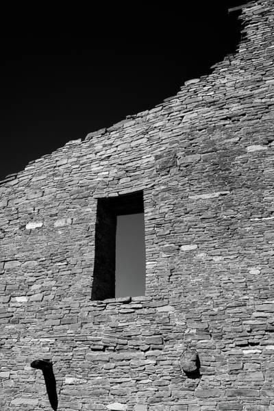 Chaco Canyon Wall Art - Photograph - Pueblo Wall by Joseph Smith