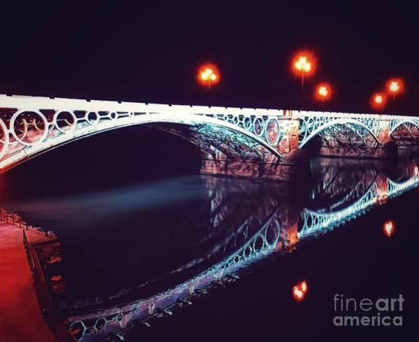 Mixed Media - Puente De Triana by Helge