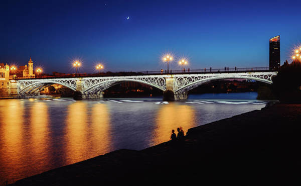 Photograph - Puente De Triana Or Triana Bridge In Seville, Spain by Alexandre Rotenberg