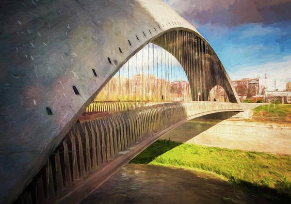 Photograph - Puente Del Invernadero Madrid Spain by Joan Carroll