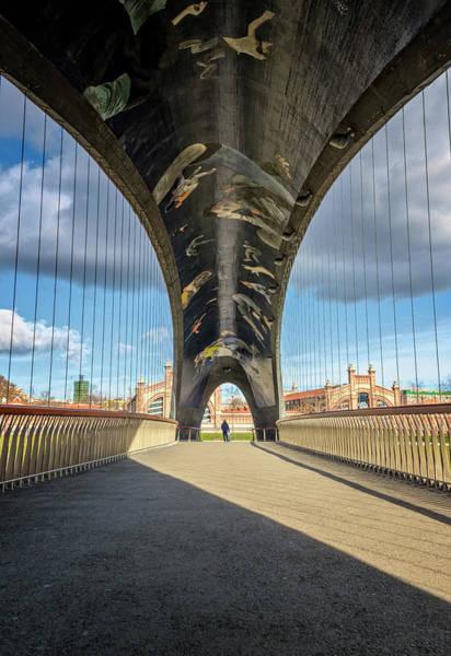 Photograph - Puente Del Matadero Madrid Spain by Joan Carroll