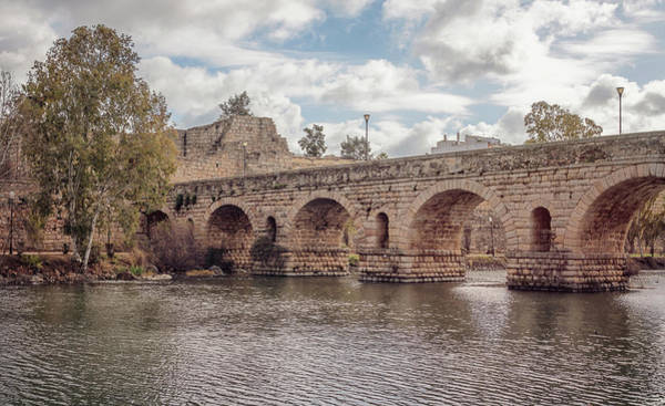 Photograph - Puente Romano Merida Spain by Joan Carroll