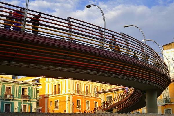 Photograph - Puente by Skip Hunt
