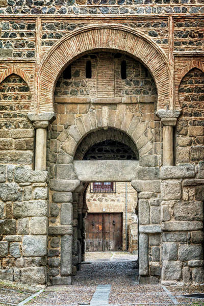 Photograph - Puerta Alfonso Vi Toledo Spain by Joan Carroll