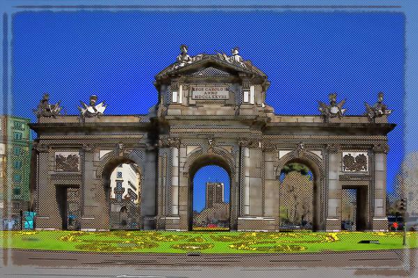 Photograph - Puerta De Alcala Madrid by Joan Carroll