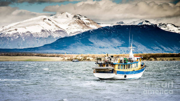 Photograph - Puerto Natales Patagonia Chile by Jim DeLillo