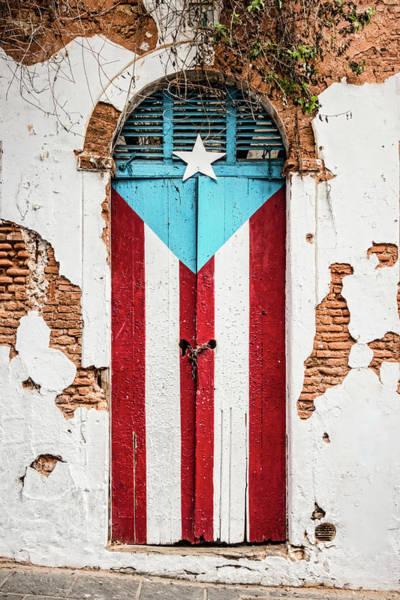 Wall Art - Photograph - Puerto Rican Door by Oscar Gutierrez