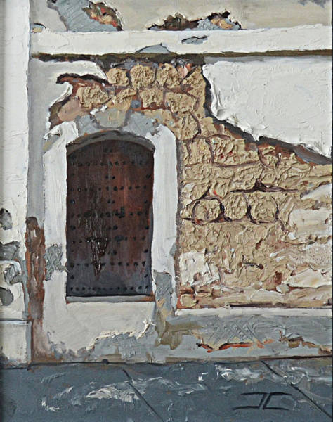Painting - Puerto Rico Door by Jan Christiansen