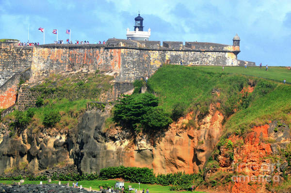 Photograph - Puerto Rico - El Morro by Robyn King