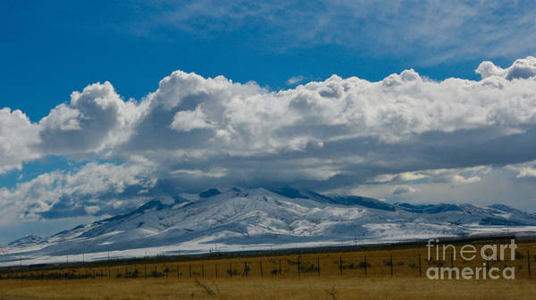 Montain Photograph - Puffy Clouds by Robert Torkomian