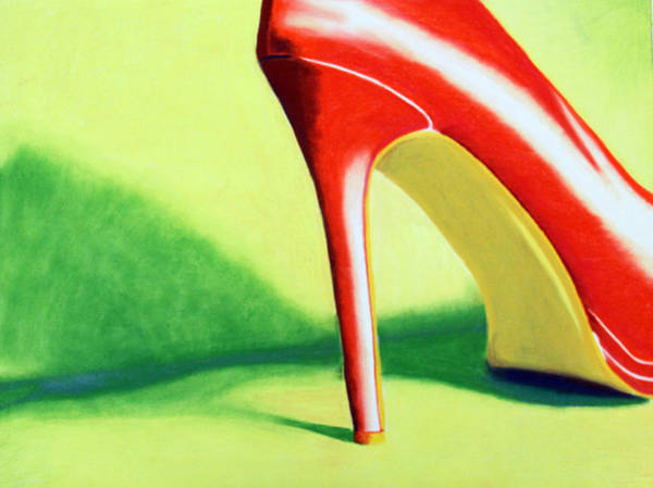 High Heels Drawing - Pulchritudinous by Ashley Huisman