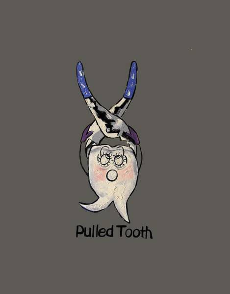 Pull Wall Art - Painting - Pulled Tooth by Anthony Falbo