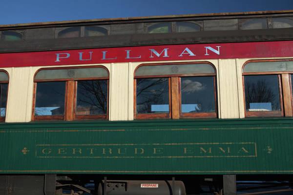 Vintage Conway Photograph - Pullman Passenger Train Car by Art Phaneuf