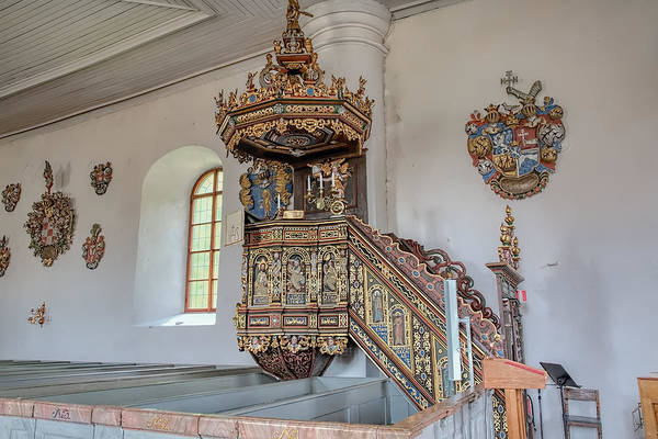 Photograph - Pulpit by Leif Sohlman