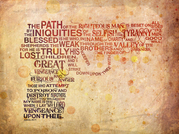 Bible Wall Art - Digital Art - Pulpography by Michael Tompsett