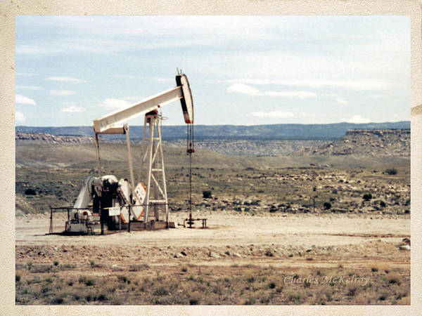 Photograph - Pump Jack by Charles McKelroy