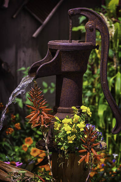 Wall Art - Photograph - Pumping Water by Garry Gay