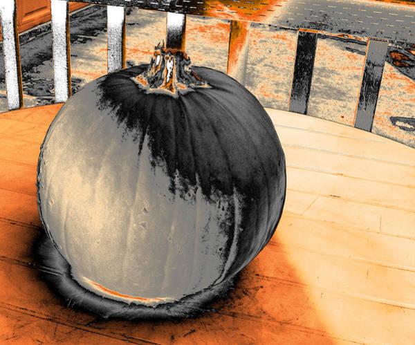 Photograph - Pumpkin #2 by Anne Westlund