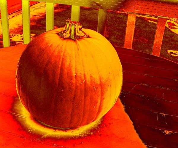 Photograph - Pumpkin #4 by Anne Westlund