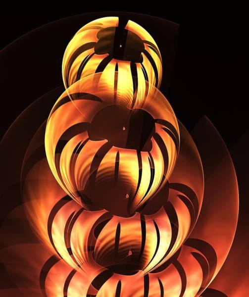 Digital Art - Pumpkin Carving by Anastasiya Malakhova