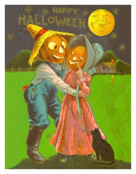Romantic Mixed Media - Pumpkin Dance by Long Shot