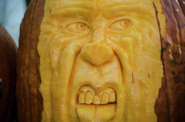 Photograph - Pumpkin Faces  Argghh by Randy J Heath