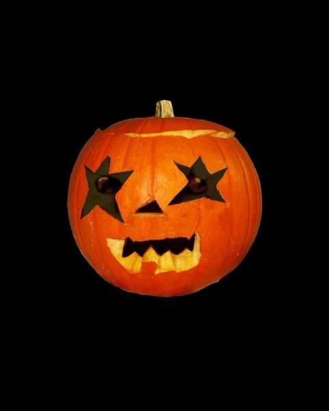 Pumpkinhead Wall Art - Photograph - Pumpkin Halloween Scare Horror Design by Tom Conway