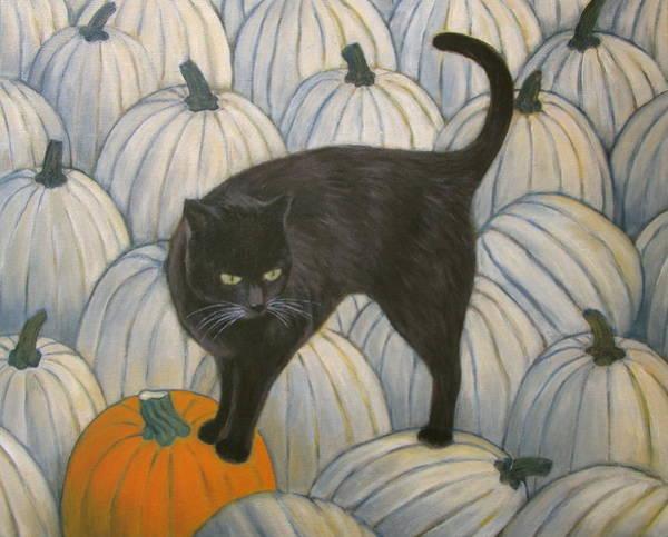 Pumpkin Keeper Art Print