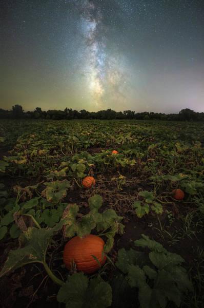 Photograph - Pumpkin Space  by Aaron J Groen
