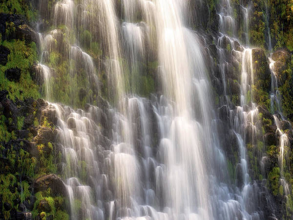 Photograph - Punalulu Falls by Christopher Johnson