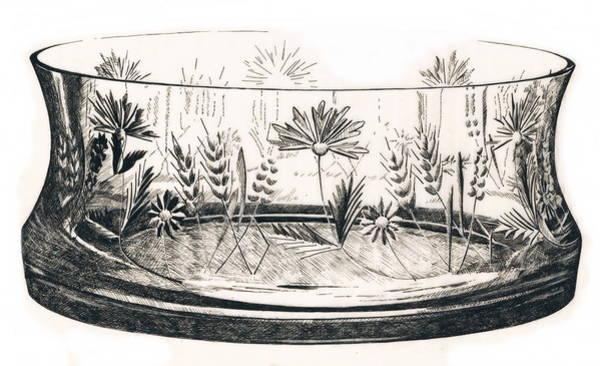 Drawing - Punch Bowl by Barbara Keith