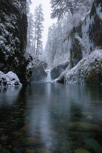 Photograph - Punch Bowl Winter by Andrew Kumler