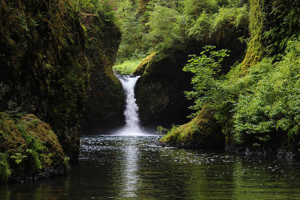 Photograph - Punchbowl Falls by Hans Franchesco